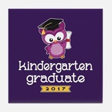 Kindergarten Grad 2017 Tile Coaster