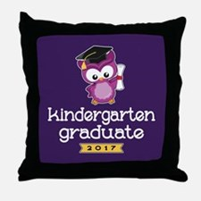 Kindergarten Grad 2017 Throw Pillow