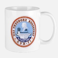 USS Theodore Roosevelt CVN 71 US Navy Ship Mug