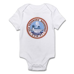USS Theodore Roosevelt CVN 71 US Navy Ship Infant