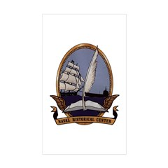 US Naval Historical Center USS Navy Ships Decal