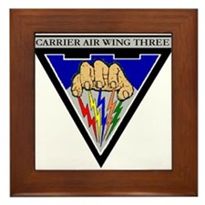 Carrier Air Wing Three CVW-3 US Navy Ships Framed
