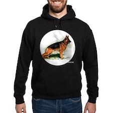 German Shepherd Obedience Sta Hoodie