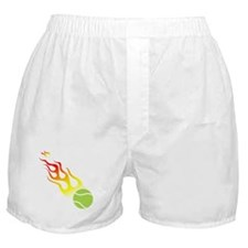 Tennis On Fire! Boxer Shorts