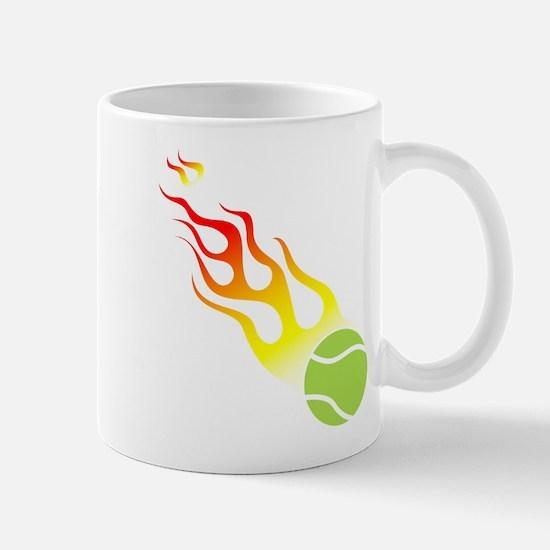 Tennis On Fire! Mug