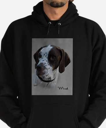 Mud the English Pointer Hoodie (dark)