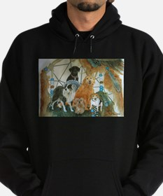 Dreamcatcher with 5 dogs Hoodie