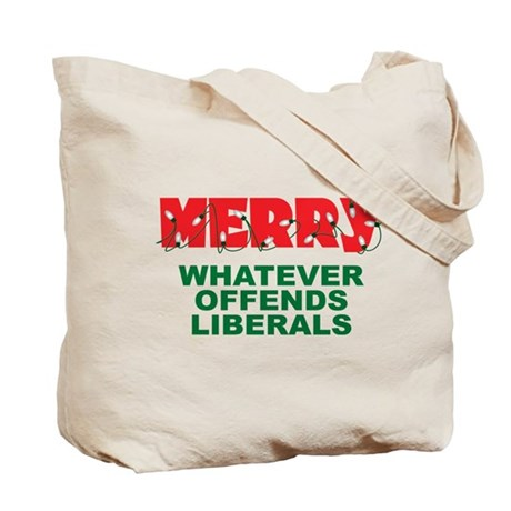 Merry (front and back) Tote Bag