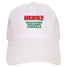 Merry Whatever Offends Liberals Cap