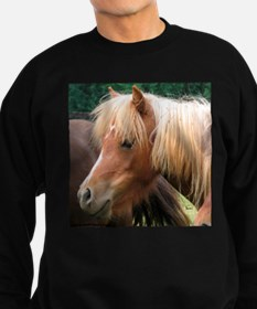 Classic Mini Horse Portrait Sweatshirt