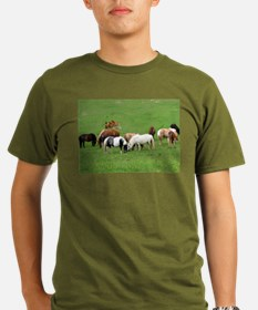 Mini Colts Playing In Field T-Shirt