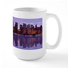 Manhattan Cityscape Reflectio Mug