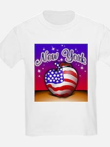 New York Big Apple American F T-Shirt