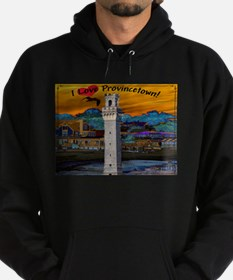 I Love Provincetown Hoody