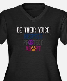 Be Their Voice (2) Plus Size T-Shirt