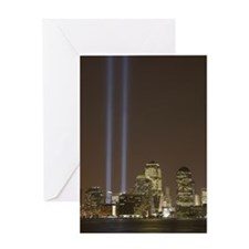 Tribute in Light (September 1 Greeting Card