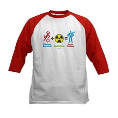 Super Powers Kids Baseball Jersey
