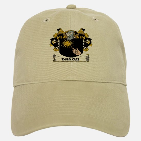 Brady Coat of Arms Baseball Baseball Baseball Cap