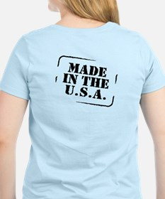Made USA (font and back) T-Shirt