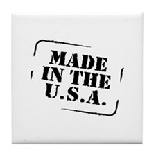 Made in the USA Tile Coaster