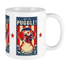 Obey the PUGGLE! USA coffee Mug