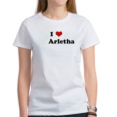 I Love Arletha Women's T-Shirt