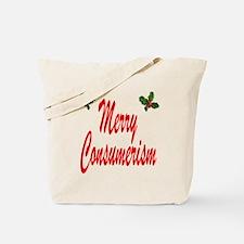 Merry Consumerism Tote Bag