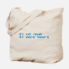 Beer Programmer Tote Bag