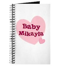 Baby Mikayla Journal