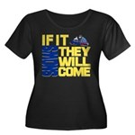 They Will Come Snowmobile Women's Plus Size Scoop