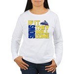 They Will Come Snowmobile Women's Long Sleeve T-Sh