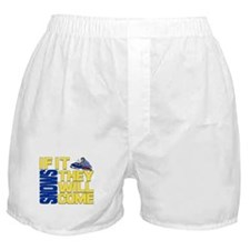 They Will Come Snowmobile Boxer Shorts