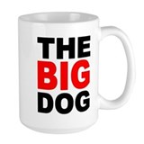 Big dog Large Mugs (15 oz)