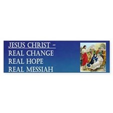 Jesus the Real Messiah Bumper Bumper Sticker