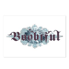 Boobiful Postcards (Package of 8)