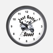 Just Gotta Scoot Joker Wall Clock