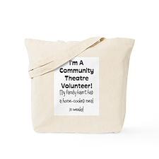 Community Theatre Volunteer Tote Bag