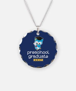 Preschool Grad 2017 Necklace