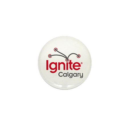 Ignite Calgary Mini Button (100 pack)