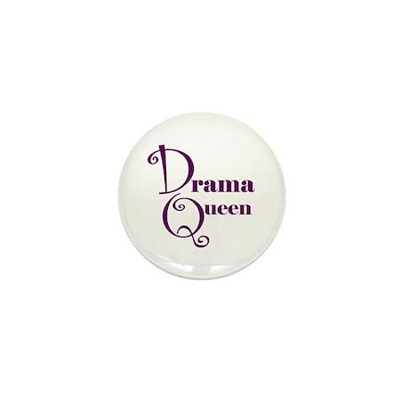 Drama Queen Mini Button (10 pack)
