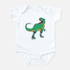 Dino with Leg Braces Infant Bodysuit