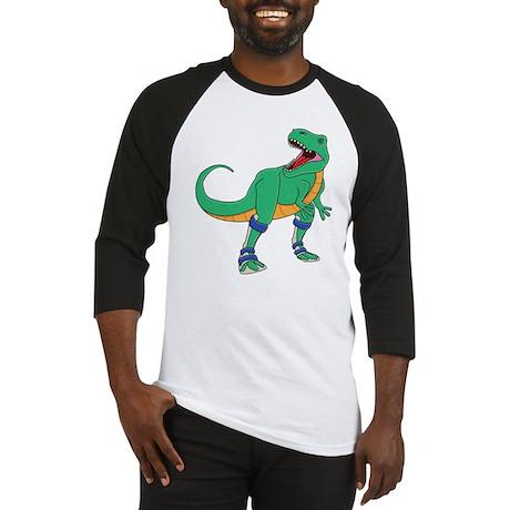 Dino with Leg Braces Baseball Jersey