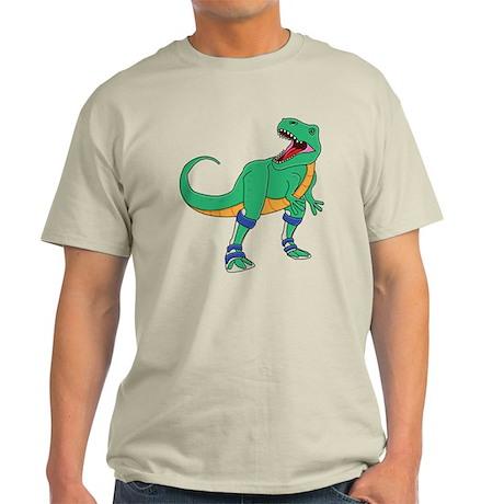 Dino with Leg Braces Light T-Shirt
