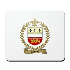 TERRIOT Family Crest Mousepad