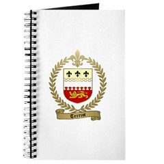 TERRIOT Family Crest Journal