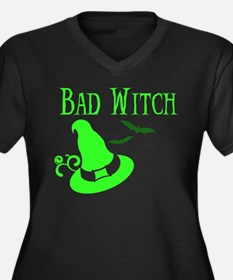 """""""Bad Witch"""" Women's Plus Size T-Shirt"""