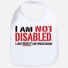Not Disabled! Bib