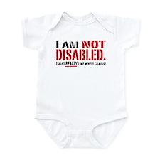 Not Disabled! Infant Bodysuit