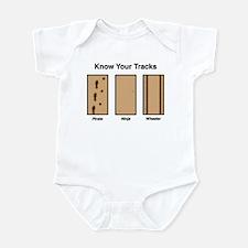 Know Your Tracks Infant Bodysuit