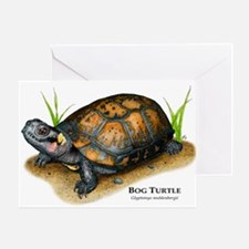 Bog Turtle Greeting Card